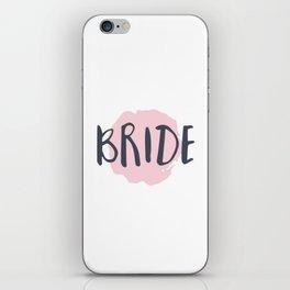 Pink Bride iPhone Skin