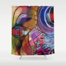 Interdimensional Shower Curtain