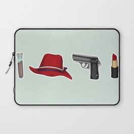 Peggy Carter Items Laptop Sleeve