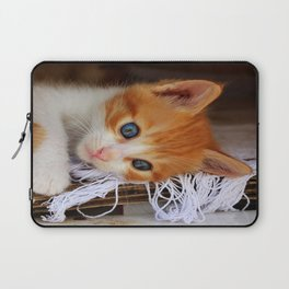 Gorgeous Blue Eyes Laptop Sleeve