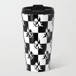 Checkmate Black & White Angels Travel Mug