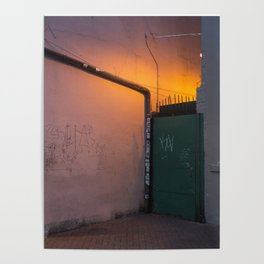 Neon Glow Poster
