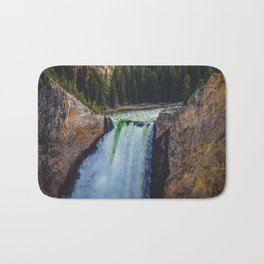 Falls, Grand Canyon of the Yellowstone Bath Mat
