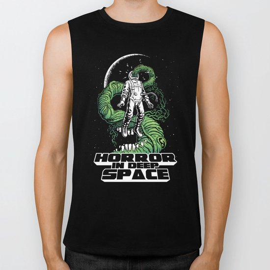 Horror In Deep Space Biker Tank