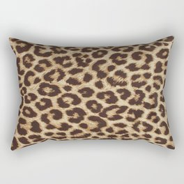 Leopard Print Rectangular Pillow