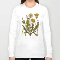 dandelion Long Sleeve T-shirts featuring Dandelion by jbjart