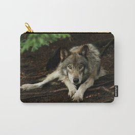 Intense Timber Wolf Carry-All Pouch