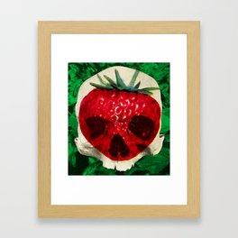 Skullberry Framed Art Print