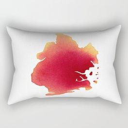 Brooklyn Red Rectangular Pillow