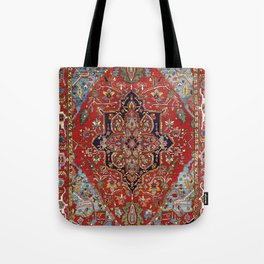 Heriz  Antique Persian Rug Print Tote Bag