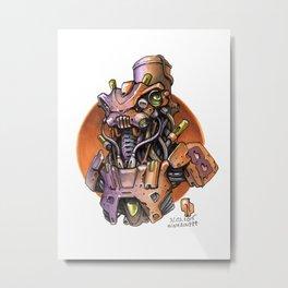 MarchOfRobots_2015_09 Metal Print