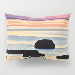 Painted Seas at Dusk Pillow Sham