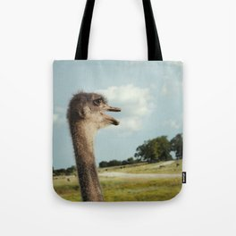Ostentasious Ostrich Tote Bag