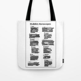 Hidden Horoscopes Tote Bag