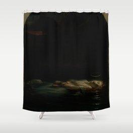 Paul Delaroche - The Christian Martyr Shower Curtain