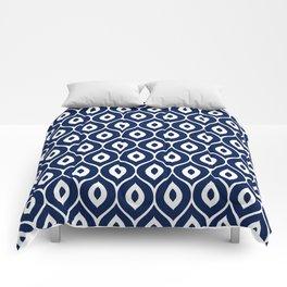 Leela Navy Comforters