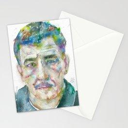 FRANZ KLINE - watercolor portrait Stationery Cards