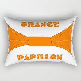 ORANGE PAPILLON Rectangular Pillow