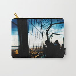 Eiffel Tower Silhouettes Carry-All Pouch