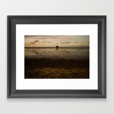 Tropic Rust Framed Art Print