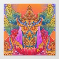 Goddess of the Night Canvas Print