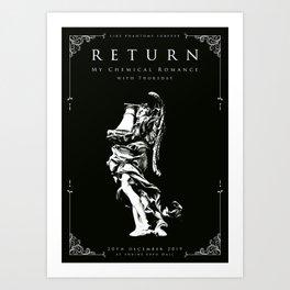 Like Phantoms Forever Art Print