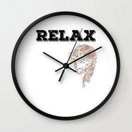"""""""Relax, Jesus got this"""" tee design for religious and spiritually active and awesome person like you! Wall Clock"""