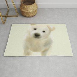 Jindo puppy Rug