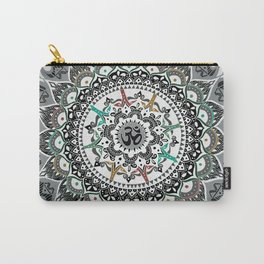 """Om"" Psychedelica Mandala Carry-All Pouch"