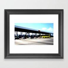 Toll Framed Art Print