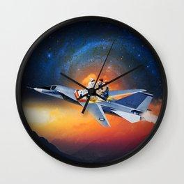 Pie In The Sky Wall Clock