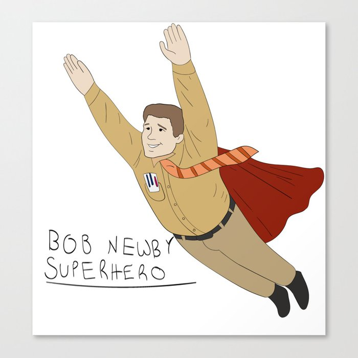 Superhero Canvas Print