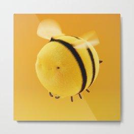 Fluffy Bee #1 Metal Print