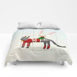 Christmas toki Comforters