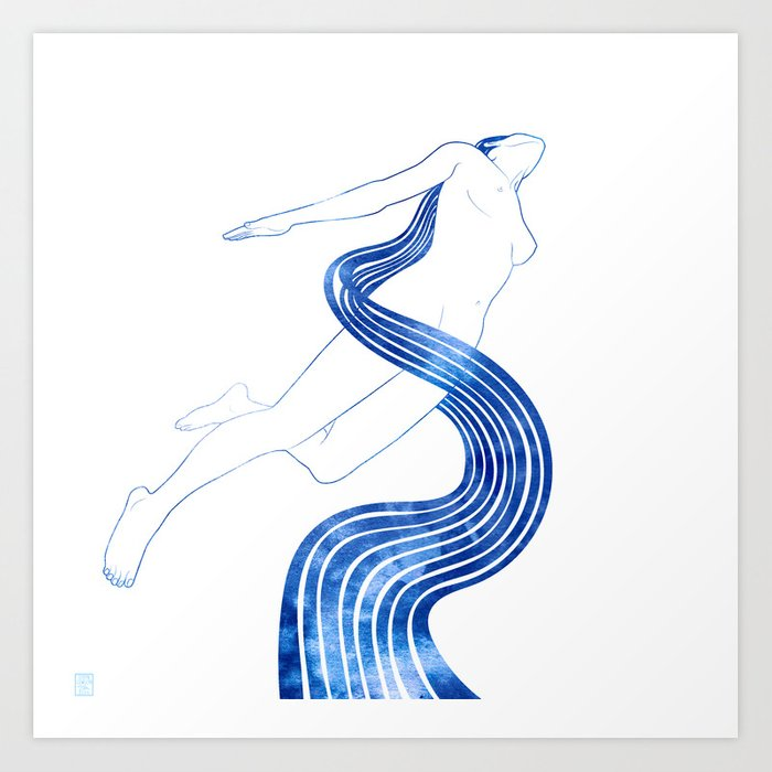 Water Nymph XLVIII Art Print