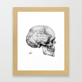 Izzet Methem Fakhr Framed Art Print