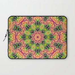BBQSHOES: Kaleioscopic Fractal Mandala 1543K2 Laptop Sleeve