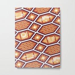 African Heat Metal Print