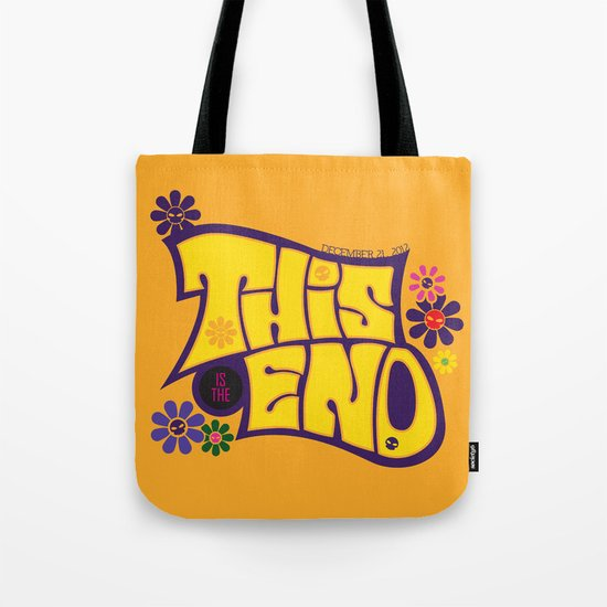 This is THE END Tote Bag