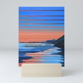 Hendry's Beach Sunset Mini Art Print
