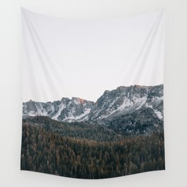 Last light in the Sierra Wall Tapestry