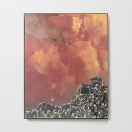 THE FORTRESS ON THE HILL Metal Print