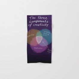 The three components of creativity Hand & Bath Towel