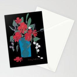 Vase Of Flowers. Stationery Cards
