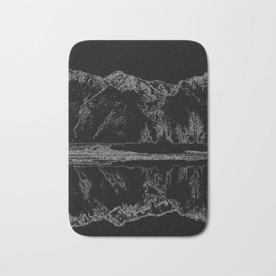 Knik River Mts. Pop Art - 4 Bath Mat