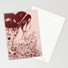 Fiction and Beauty Stationery Cards