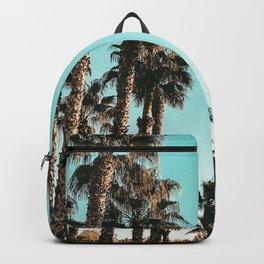 Palm Tree Days {1 of 2} Tropical Cali Art Print Backpack
