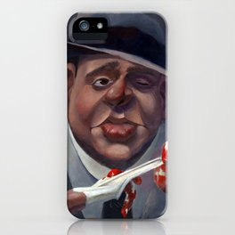 Al Capone, The Ugly. iPhone Case