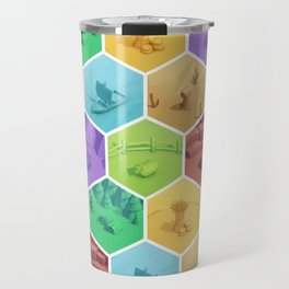 The Resource Conquest - 3D Travel Mug