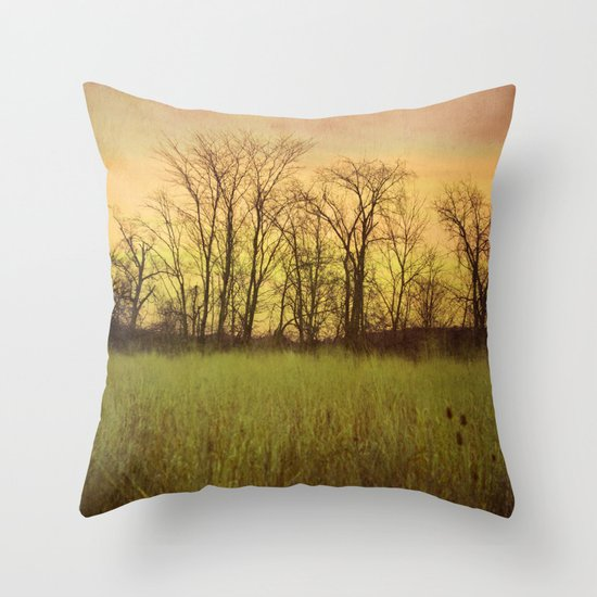 Morningtide - When Night is Left Behind Throw Pillow